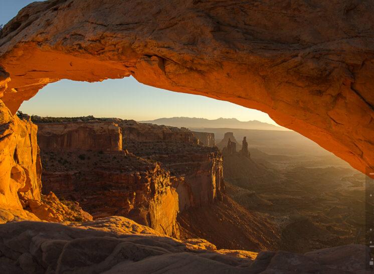 Mesa Arch, Sonnenaufgang