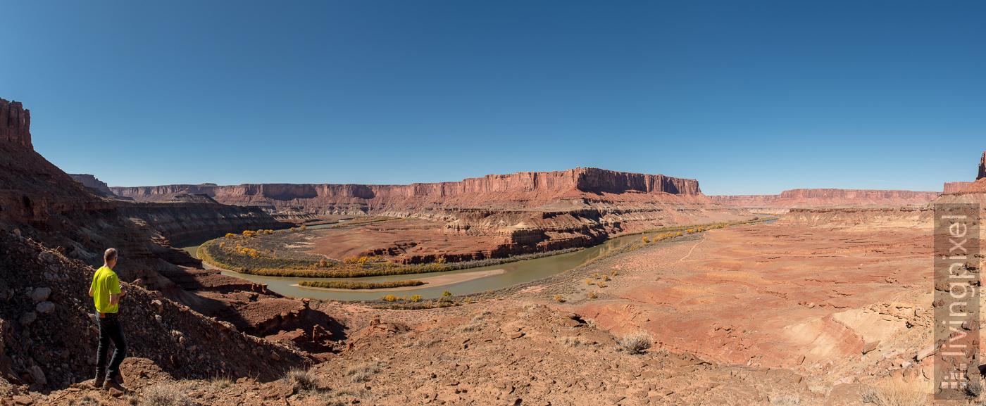 Panorama White Rim Trail