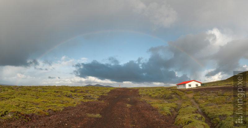 Unter dem Regenbogen