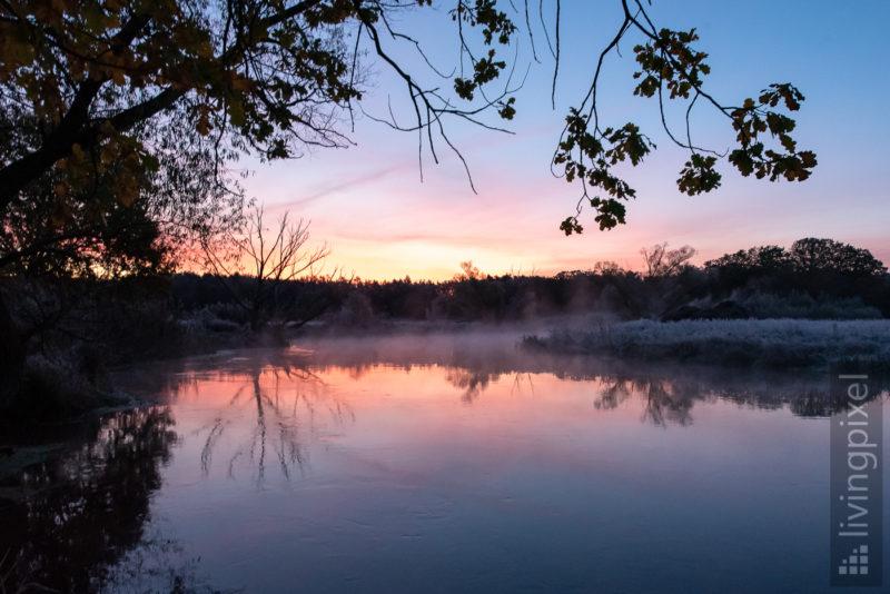 Sonnenaufgang an der Spree