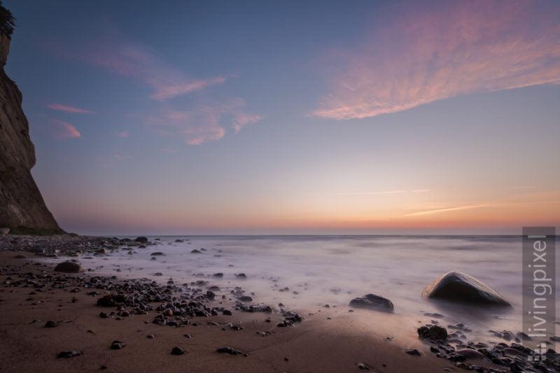 Ostseeküste im Sonnenaufgang