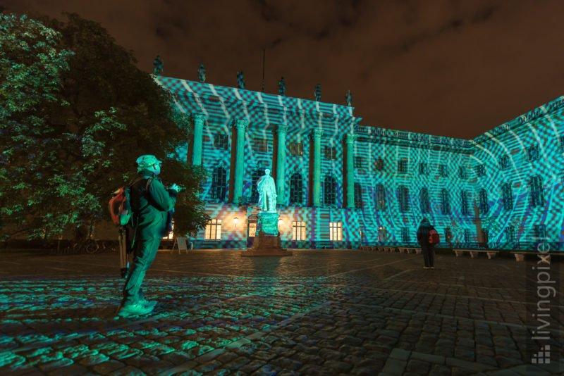 Festival of Lights, Humboldt Universität