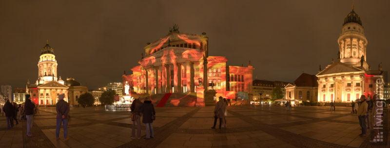 Festival of Lights, Gendarmenmarkt